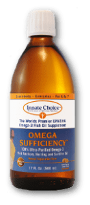 Omega Sufficiency Lemon Oil